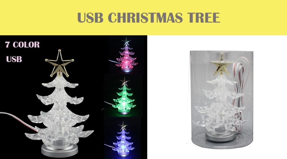 popular and fashionable 4 fairy usb mini table gifts walmart selling led christmas trees for - Usb Christmas Tree