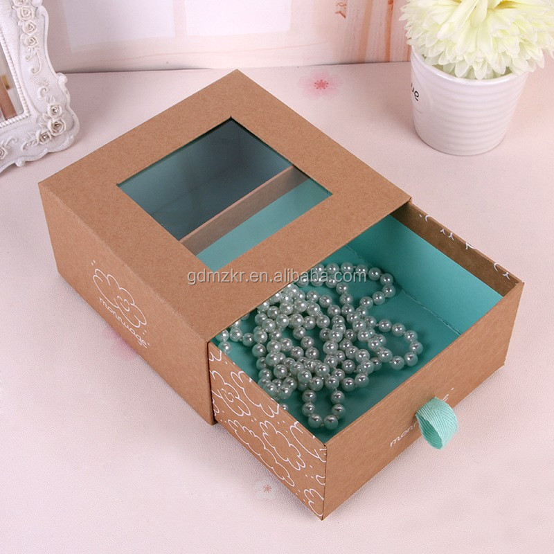 New customized hanging bow tie packaging box price drawer box for bow tie