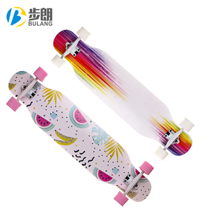wholesale cheap long wood child factory skateboard