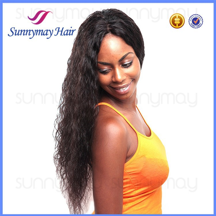 Sunnymay Lace Front Wig Indian Remy Hair Tangle Free Lace Wig Loose Curly Lace Front Wig