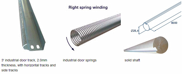 China industrial door springs