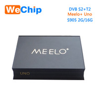 DDRIII 2GB/16GB digital satellite receiver software update Android 5.1.1 Amlogic S905 tv box meelo uno