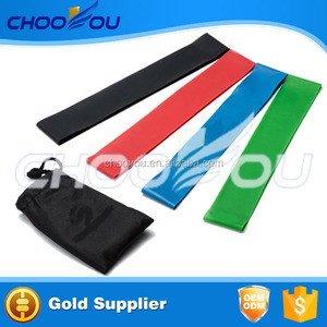 4PCS in 1 Set Sports Resistance Bands Yoga Pull Up Workout Stretching Exercises Band