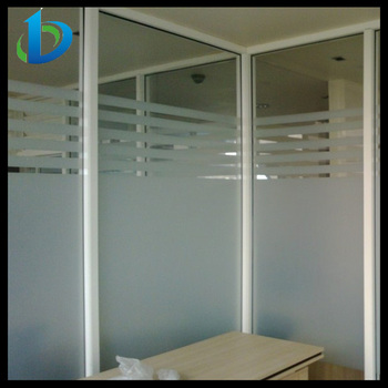 Amazing Frosted Glass Office Partitions With Pattern