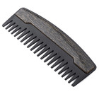 2019 wholesale new design zinc alloy hair beard comb beard comb metal