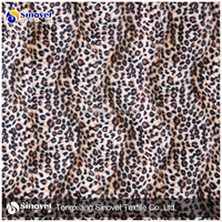 Wholesale100% polyester velour printed animal velvet fabric for sofa fabric