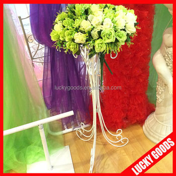 Wedding Centerpiece Iron Flower Stands For Weddings Wholesale - Buy ...