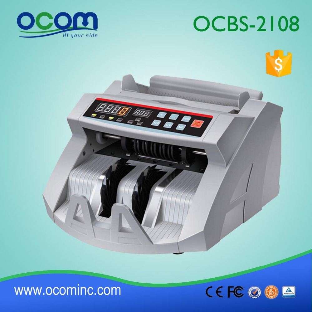 BC-2108: money counter machine, multi currency bill counter