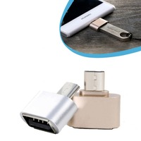Hot selling! Mini Fun Micro USB OTG Cable Adapter 2.0 Hug Converter For Apple Phones to OTG Usb Flash Drive