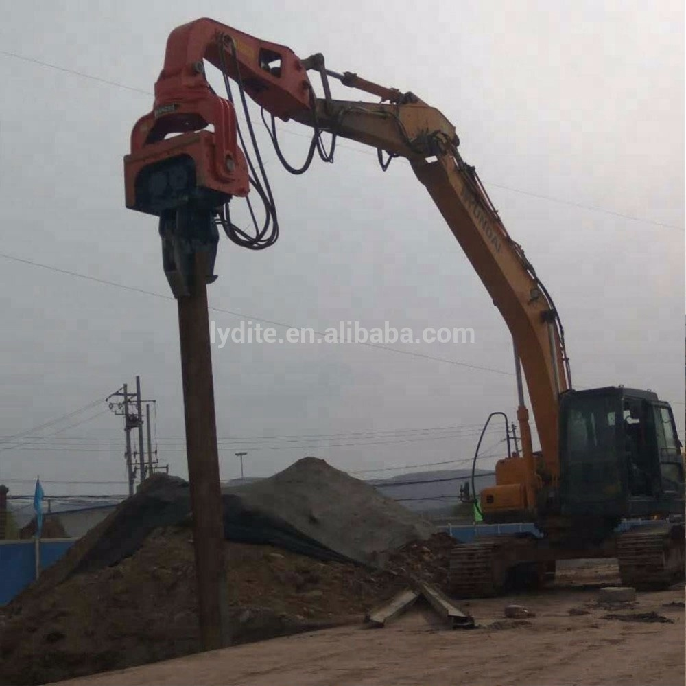 Small Pile Driving Equipment Hydraulic Piling Machine And Vibro Hammer For  Sale - Buy Pile Driving Equipment,Hydraulic Piling Machine,Vibro Hammer