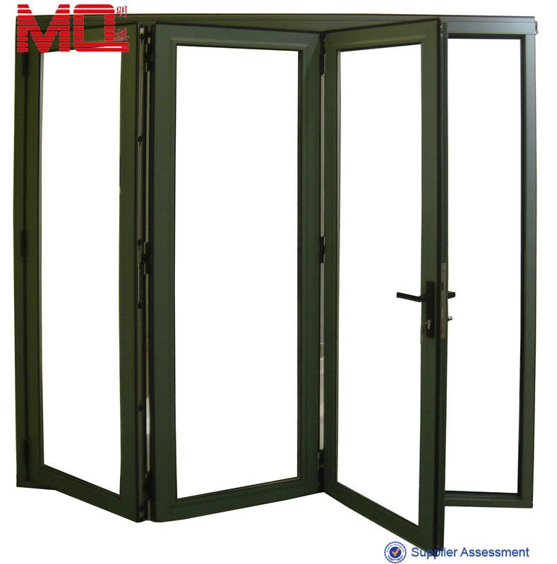 F cil limpieza plegable precio puerta puerta de cristal for Precio de puertas plegables