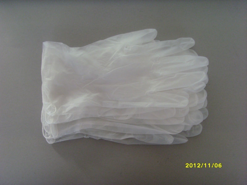 lighter and softer clear Disposable Vinyl glove