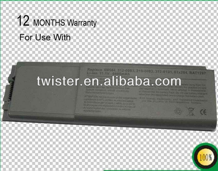 New Laptop Battery for DELL Pre cision M60 DELL Latitude D800 Inspiron 8500 Inspiron 8600 Series