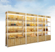 mdf wooden glass living room showcase design/wooden furniture showcase