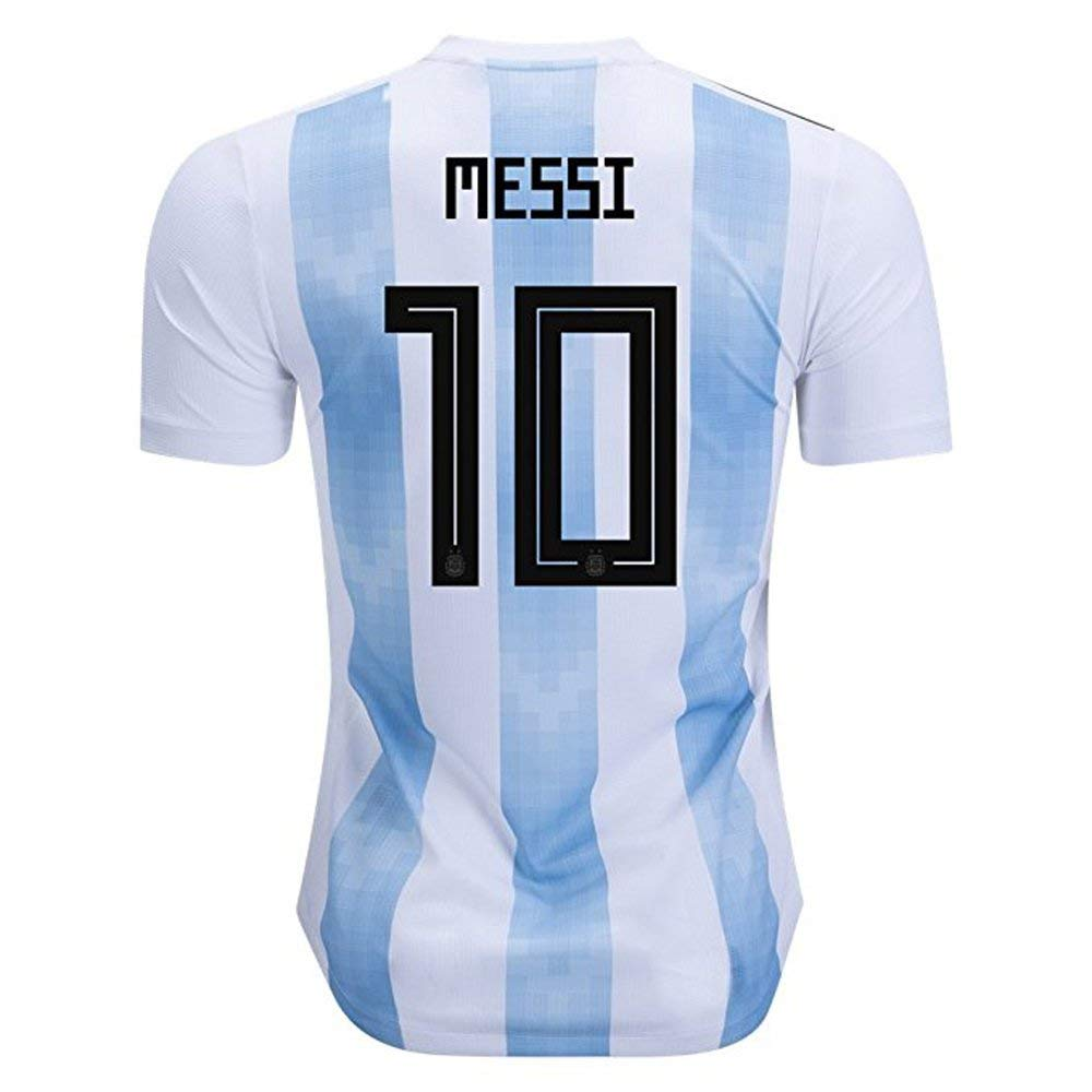 e79ce8c2f Get Quotations · PTOOA Messi Jersey Youth Soccer Kids Football Home Shirt  Jerseys 2018 2019