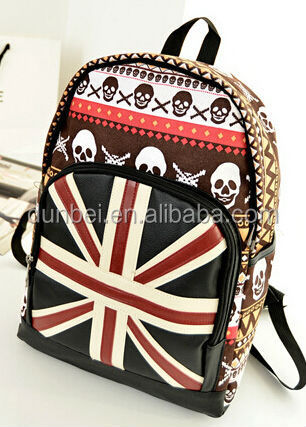 Hot New products for 2015 Beauty cute fashion backpack for high school girl