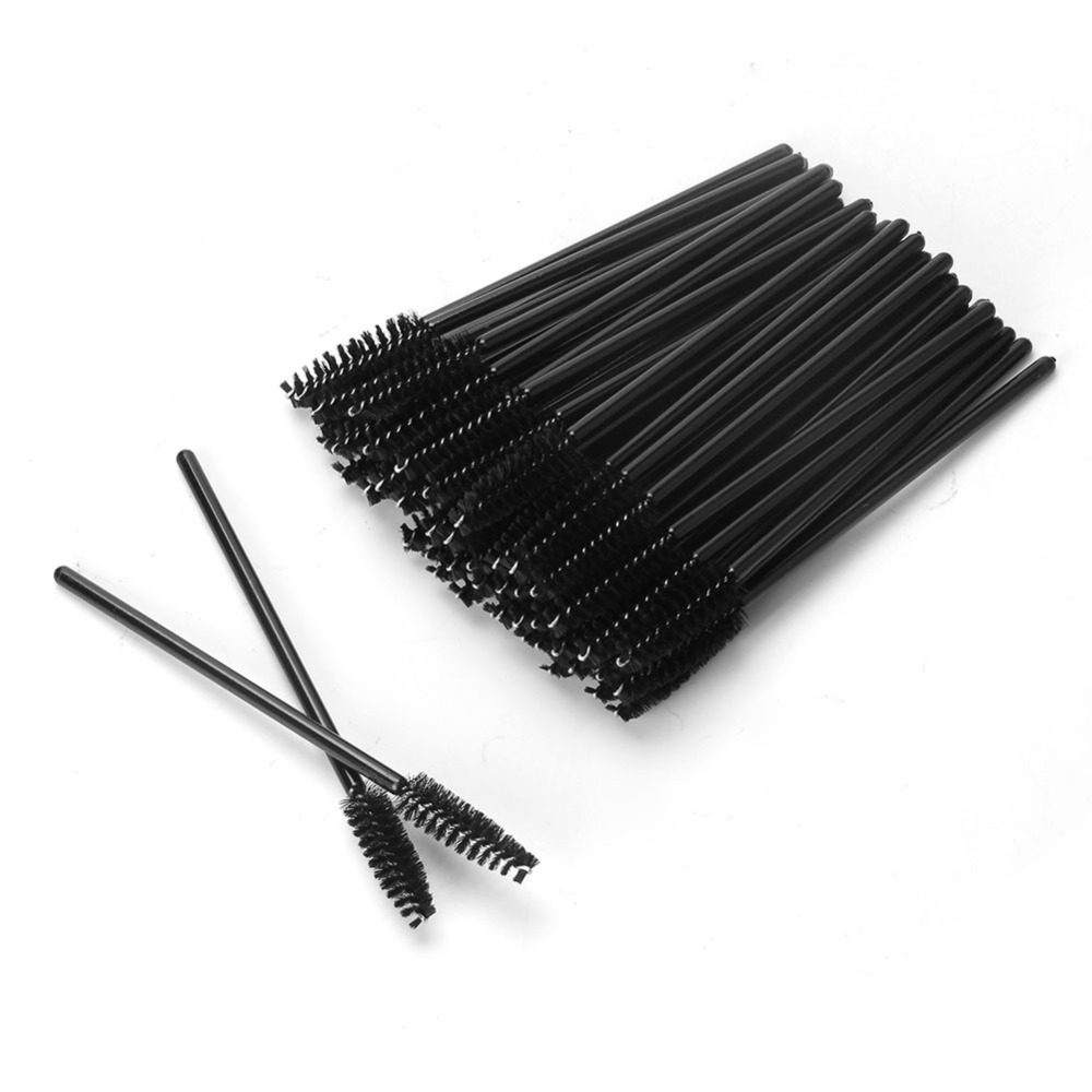 beauty makeup accessories mascara wands disposable eyelash brush