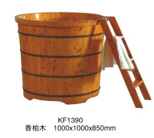 Round Canada Cedar Wooden Bathtub With Ladder Buy