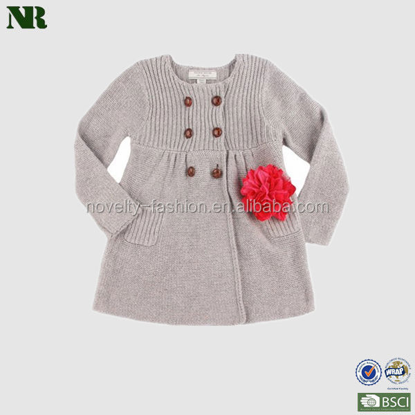 Grey Knitting Patterns For Kids Sweaters Clothes Baby Coat With ...