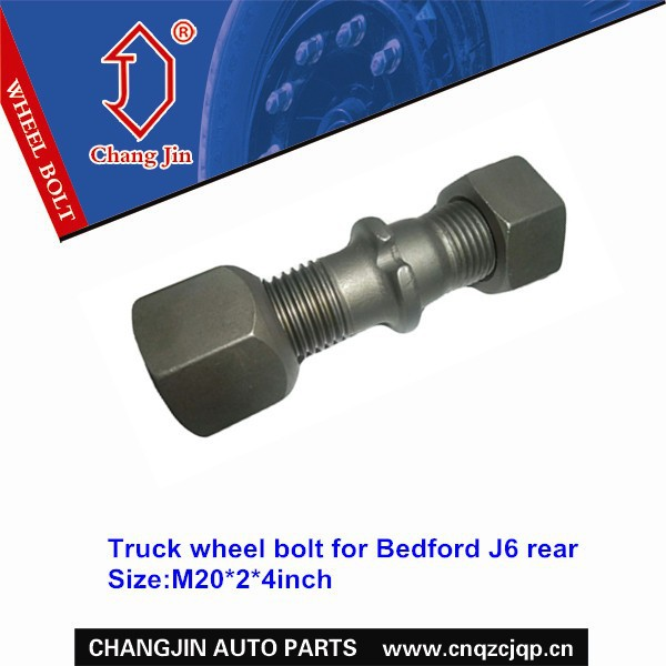 Truck wheel bolt for Bedford J6 rear