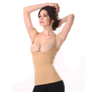 Hotsell Seamless Body Shaper Breast Support Shapewear Women Slimming Vest
