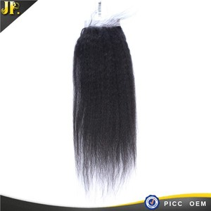 JP wholesale factory price human virgin raw hair 4x4 lace 3d closure
