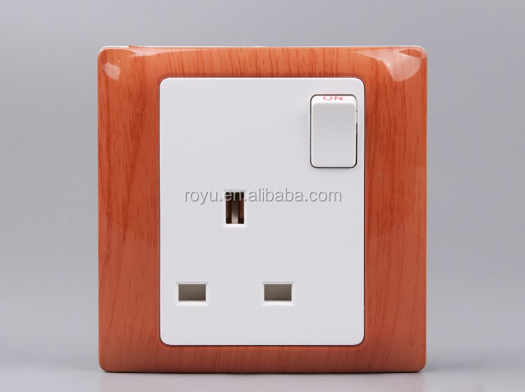 Switch Socket British Type 13A Multi Electrical Plugs And Sockets