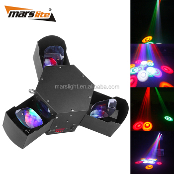 Stage Effect Lights Eagle Eye Led Lighting 3 Claws Led Trinal ...