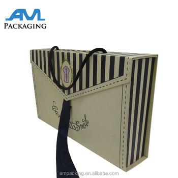 T Shirt Skirt Printing Custom Apparel Gift Packaging Box Folded Gift
