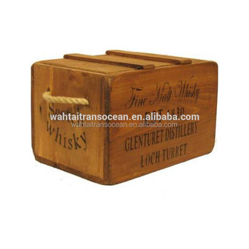 Scottish Malt Whisky Antique Wooden Storage Trunk Box Crate Lid Vintage Chest 2019 Buy Wooden Cratewooden Crate Boxwooden Crate With Lid Product