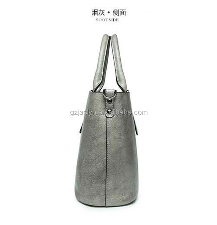 8a6a0cc8c5 trendy London style simple design wax vintage leather handbags for women  multi-color wax cow
