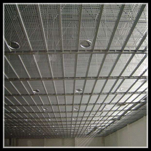 Galvanized Steel Grates Used For Catwalk Grating Project