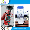 2015 Hot sale Plastic water My Bottle logo with cloth bags factory directly