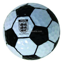 Unique Soccer Design football shaped Golf Ball