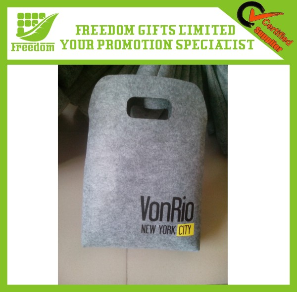 Promotional Various Style Wholesale Felt Shopping Bag