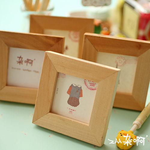 online buy wholesale wood picture frames from china wood picture frames wholesalers. Black Bedroom Furniture Sets. Home Design Ideas
