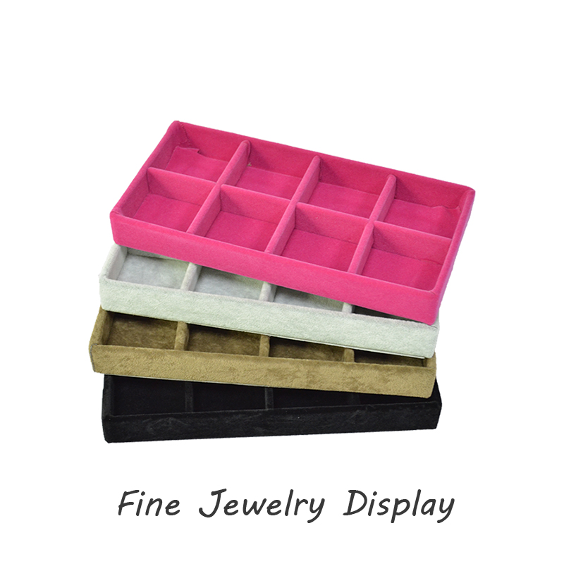 Portable Jewelry Display Box Black portable jewelry display case