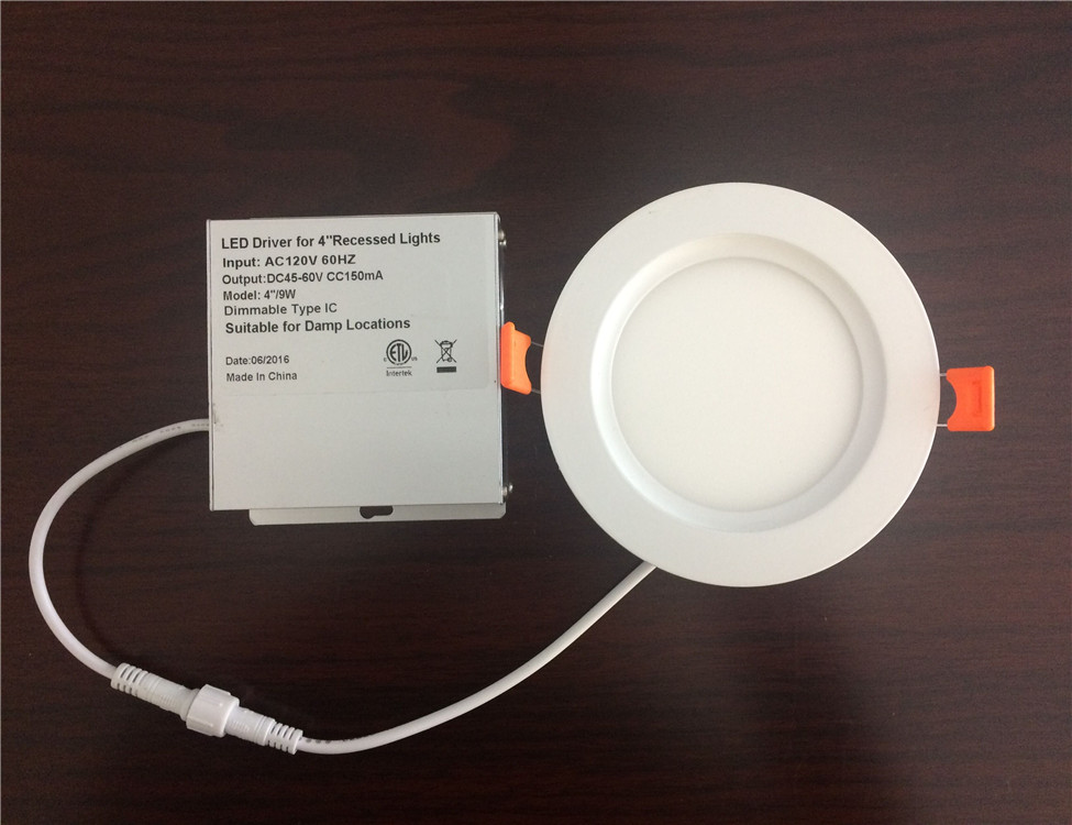 2018 new 3w 5w 7w 9w 12w 15w 4/6/8 inch LED COB downlight ceiling lamp 12V white 110mm cutout driver in a box UL ETL SAA