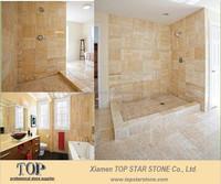 Polished Bathroom Tiles Yellow Cream Onyx Agate