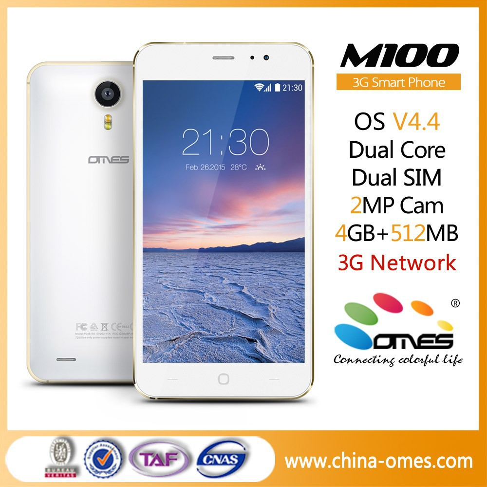 New Arrival Latest Arrival M100 5 inch 3G chinese dual sim card mini mobile phone
