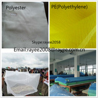 Polyethylene 150D with 2percent permethrin, Mosquito Tent Netting 100% Nylon 60
