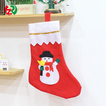 Decorative Artificial Mini Christmas Stocking Top Quality Waste