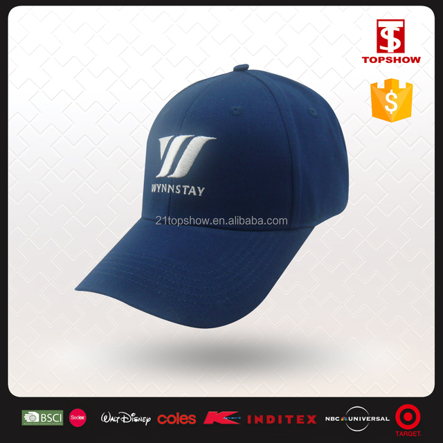 95953a8c826 Trade assurance polyester plain 6 panel embroidery big brim baseball cap