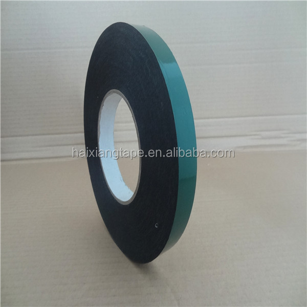 Double sided colorful rubber insulation foam tape