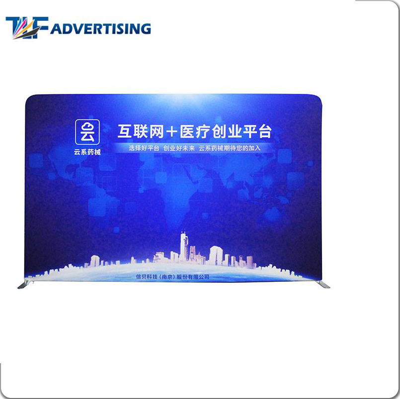 Reliable and Good backdrop stand tension fabric pop up display