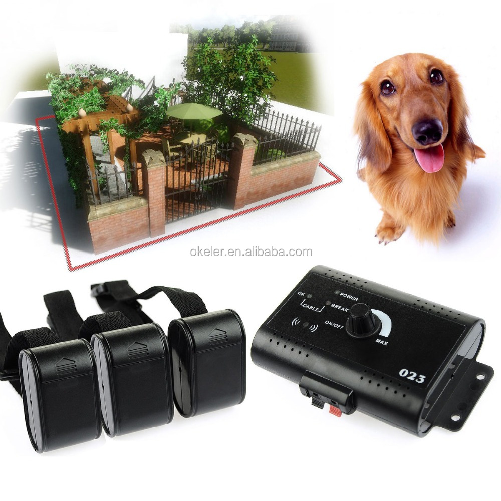 Dog trainer In-ground Pet Fencing System, Electric Fence for pet training for sale