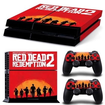 Enough Stock Redemption 2 printed sticker ps4 Red Dead Redemption 2 xbox  one sticker, View Redemption 2 sticker, L&C Redemption 2 sticker Product