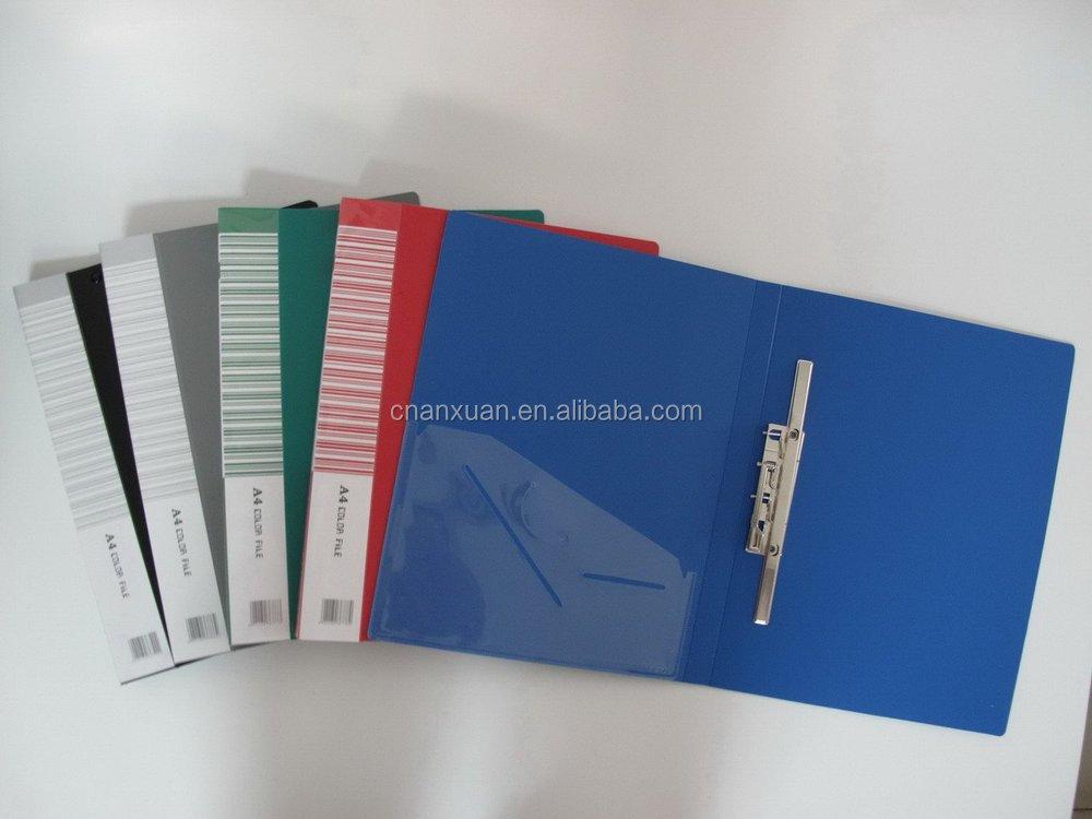Plastic Pp Long Press Clip File Folder Desktop File Holder