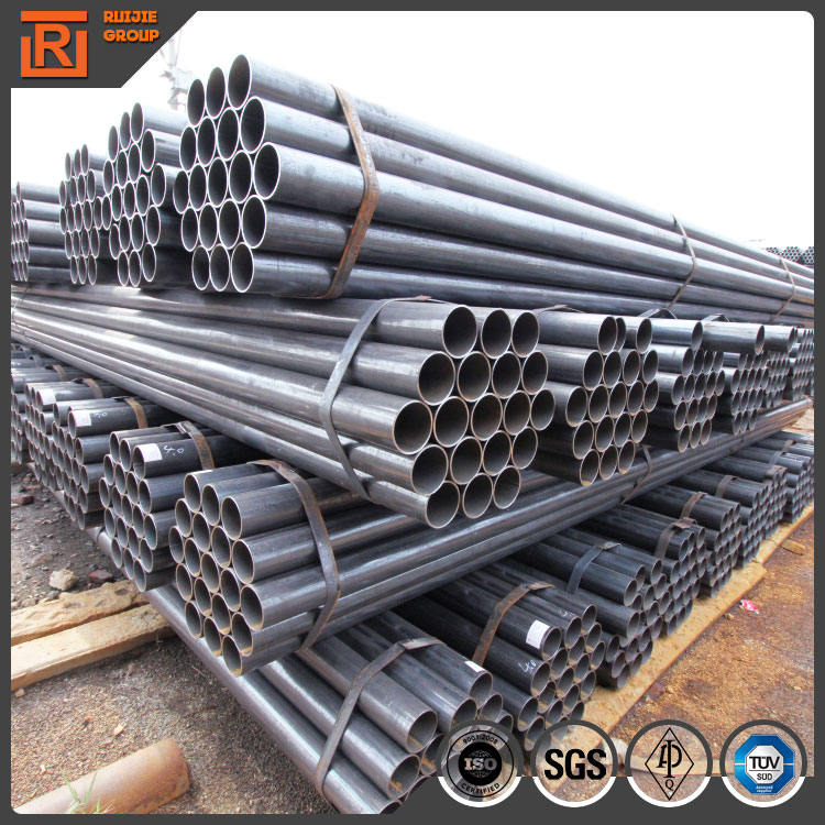 Steel pipes erw astm a53 3 inch, steel tube for structure manufacturers, steel tube packed in bundle