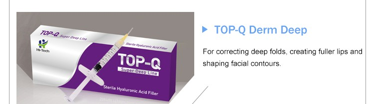 Buy Manufactutrt Top-Q Hyaluronate Acid Dermal Filler Fine Line For Eye Anti-wrinkle Beauty Equipment 1cc
